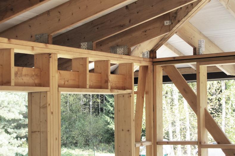 Lesene konstrukcije –  CNC krojenja lesa do konstrukcije raznovrstnih hiš